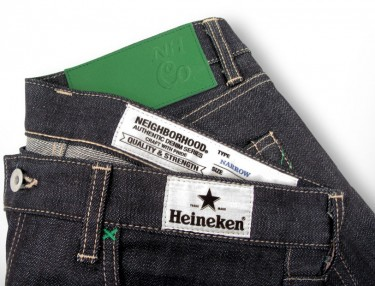 #HEINEKEN100 X NEIGHBORHOOD Denim Collaboration