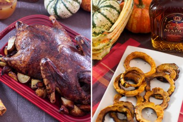 Crown Royal's #SeasonOfMaple Thanksgiving Recipes