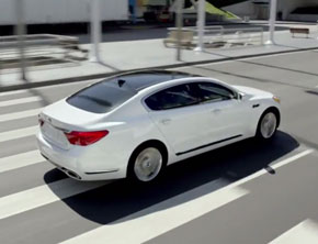 KIA Introduces 2015 K900 Sedan
