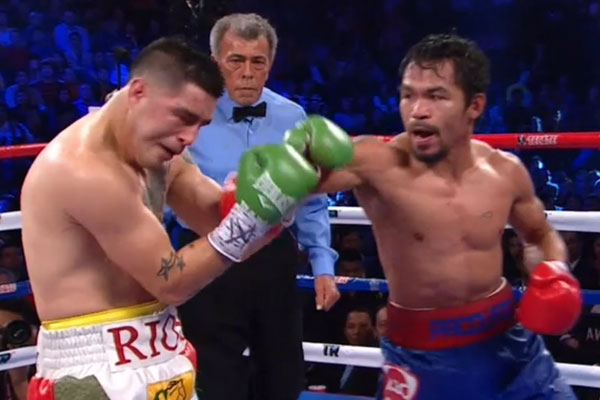 Manny Pacquiao Is Back! Dominates Brandon Rios For Decision Win