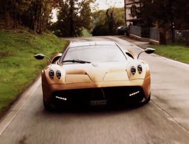Closer Look At The Pagani Huayra Hypercar