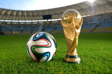 Adidas Brazuca, official match ball of the 2014 FIFA World Cup in Brazil