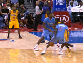 NBA Ballin: Jamal Crawford Crosses Up Lance Stephenson