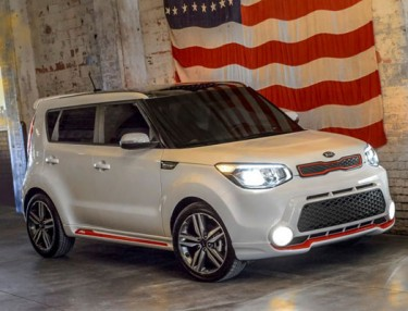 2014 Kia Soul 'Red Zone' Edition