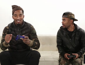 J.R. Smith vs. Lil Duval In 'NBA 2K14'