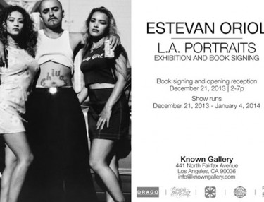 Estevan Oriol 'L.A. Portraits' Exhibit / Signing At Known Gallery (LA)