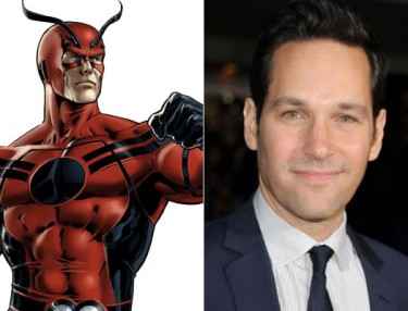 Paul Rudd to play Marvel superhero Ant-Man