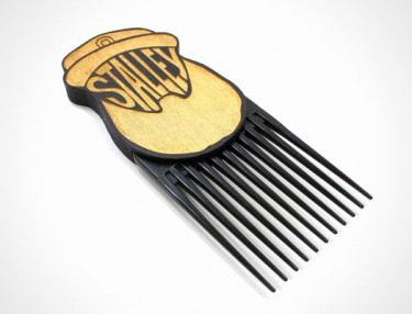 Good Wood NYC x Stalley Hair Pick