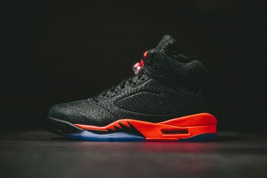 Air Jordan 5 Retro 3Lab5 'Black Infrared'