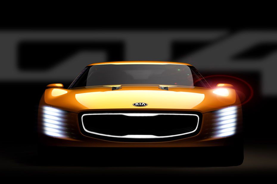 Kia Offers Glimpse Of GT4 Stinger