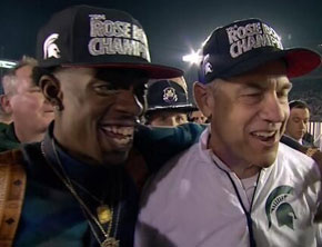 Michigan State Spartans Turn Up With Rich Homie Quan After Rose Bowl Win