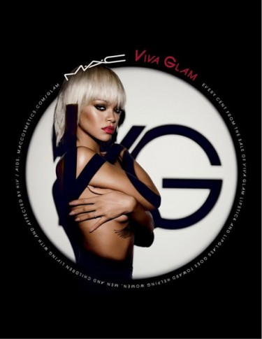 Rihanna Strips For New MAC Cosmetics Viva Glam Campaign
