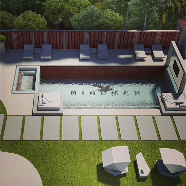 Birdman shows off pimped out pool with flat screen tv for Show pool status pgpool
