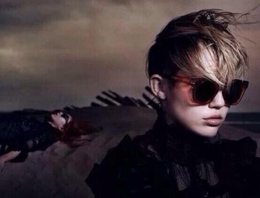 Miley Cyrus fo Marc Jacobs' Spring/Summer 2014 campaign