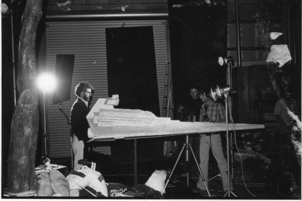 Rare photos from Star Wars set from Chewbacca
