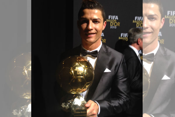 Cristiano Ronaldo Crowned World's Top Futbol Player