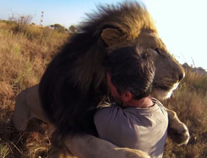 GoPro x Kevin Richardson: The Lion Hugger