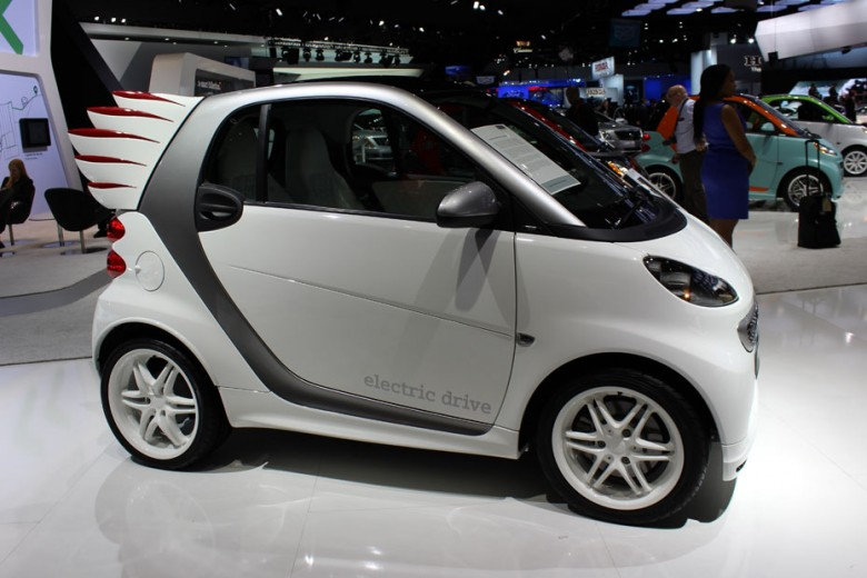 smart Fortwo Electric Drive Car by Jeremy Scott
