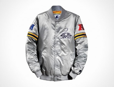 Starter Super Bowl XLVIII Satin Jacket