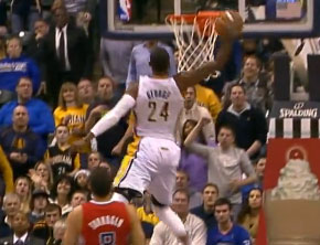 NBA Ballin: Paul George's 360 Windmill Slam