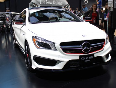 2014 Mercedes-Benz CLA 45 Edition 1