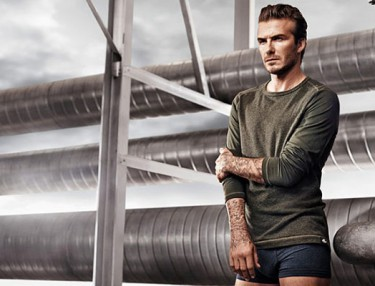 David Beckham For H&M's Bodywear Spring 2014
