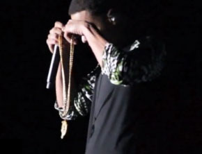 Jay Z Gives J. Cole His Original Roc-A-Fella Chain