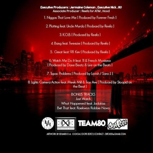 Maino - K.O.B. (Mixtape) - back