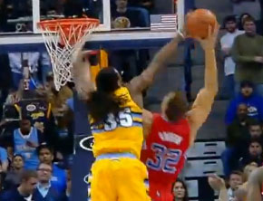 The Manimal Denies Blake Griffin