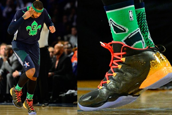 the sneakers worn during 2014 nba allstar game