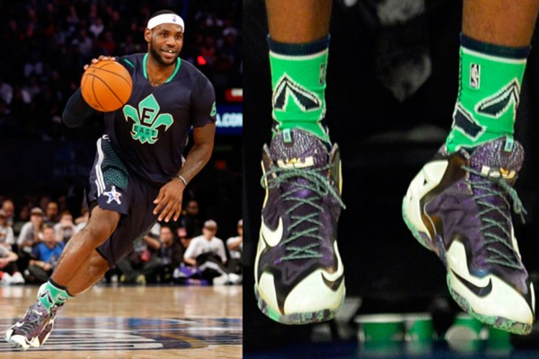LeBron James / Nike LeBron XI Gator King