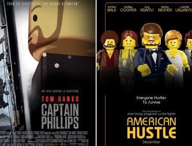 Yahoo LEGO-fies Oscar-Nominated Movie Posters