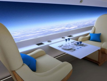 Windowless Supersonic Jet