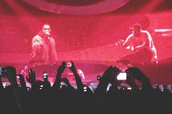 Drake Brings Kanye West On-Stage In Berlin