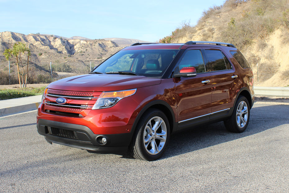 closer look at fords 2014 explorer limited ballerstatuscom - Ford Explorer 2014 Limited