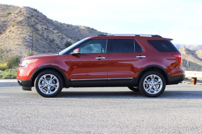 2014 Ford Explorer Towing Capacity >> Closer Look At Ford's 2014 Explorer Limited | BallerStatus.com