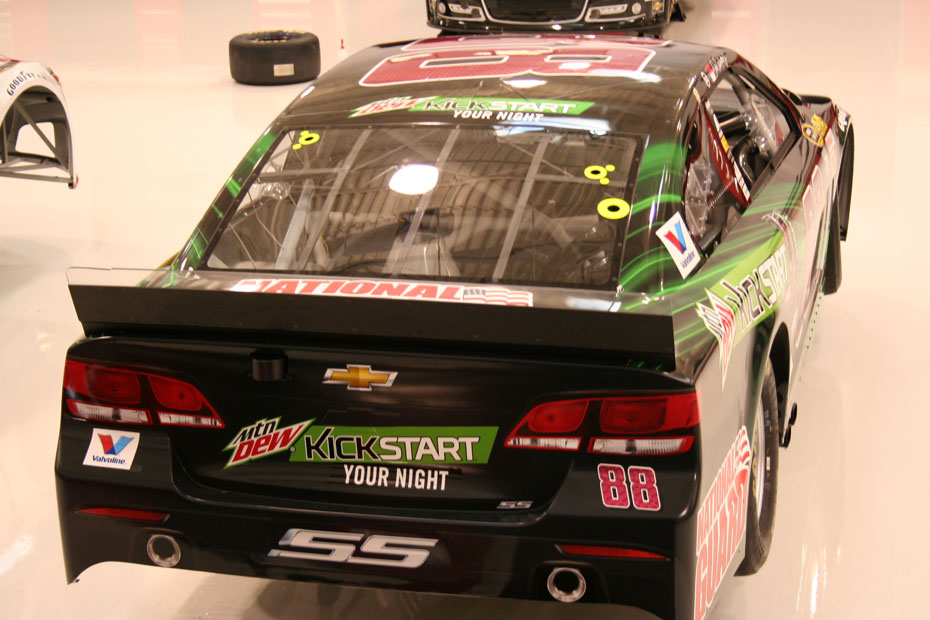 Dale Earnhardt Jr.'s New Mtn Dew Kickstart Paint Scheme