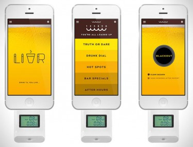 LIVR, The Social Network For Drunks