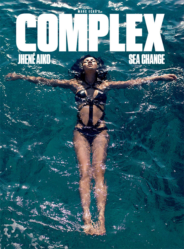 Jhené Aiko covers May/April 2014 Complex issue