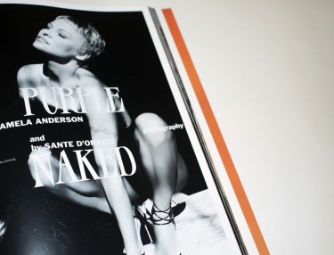 Pamela Anderson for PURPLE Issue #21