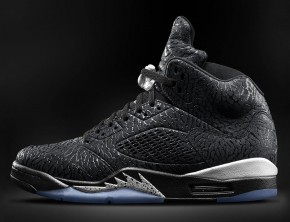 Air Jordan 3Lab5 Black/Metallic Silver