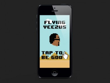 Flying Yeezus by Phenix