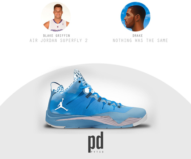 NBA signature sneakers inspired by rap albums.