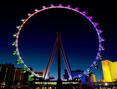Las Vegas Strip ferris wheel High Roller