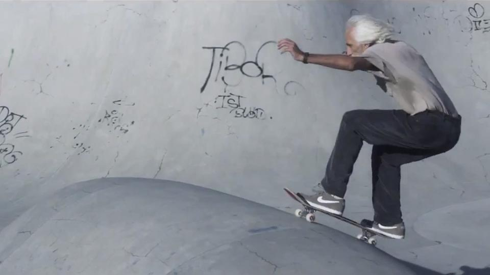 60-Year-Old Skateboarder Neal Unger