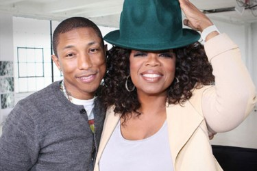 Pharrell sits down with Oprah