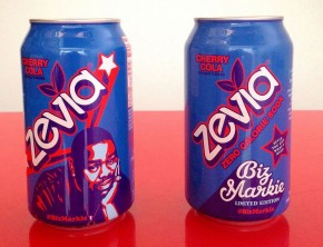 Biz Markie Edition Zevia Cherry Cola