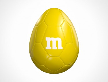 M&M M-Ball soccer