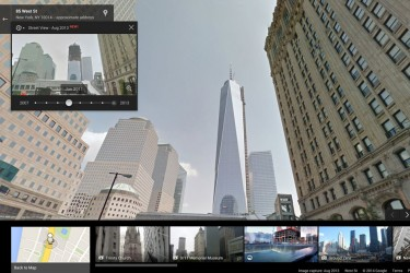 Time-Travel With Google Maps