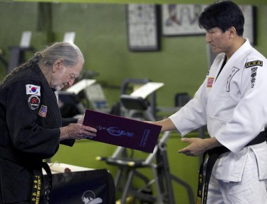 Willie Nelson Earns Fifth-Degree Black Belt